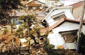 地震のイメージ写真
