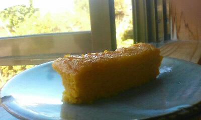 かぼちゃのおからケーキ