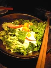食べ放題のサラダ☆