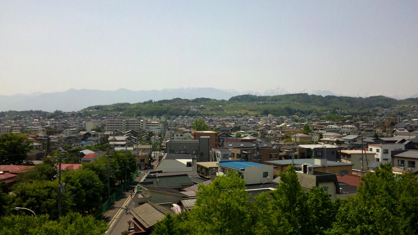 松本市 城山方面