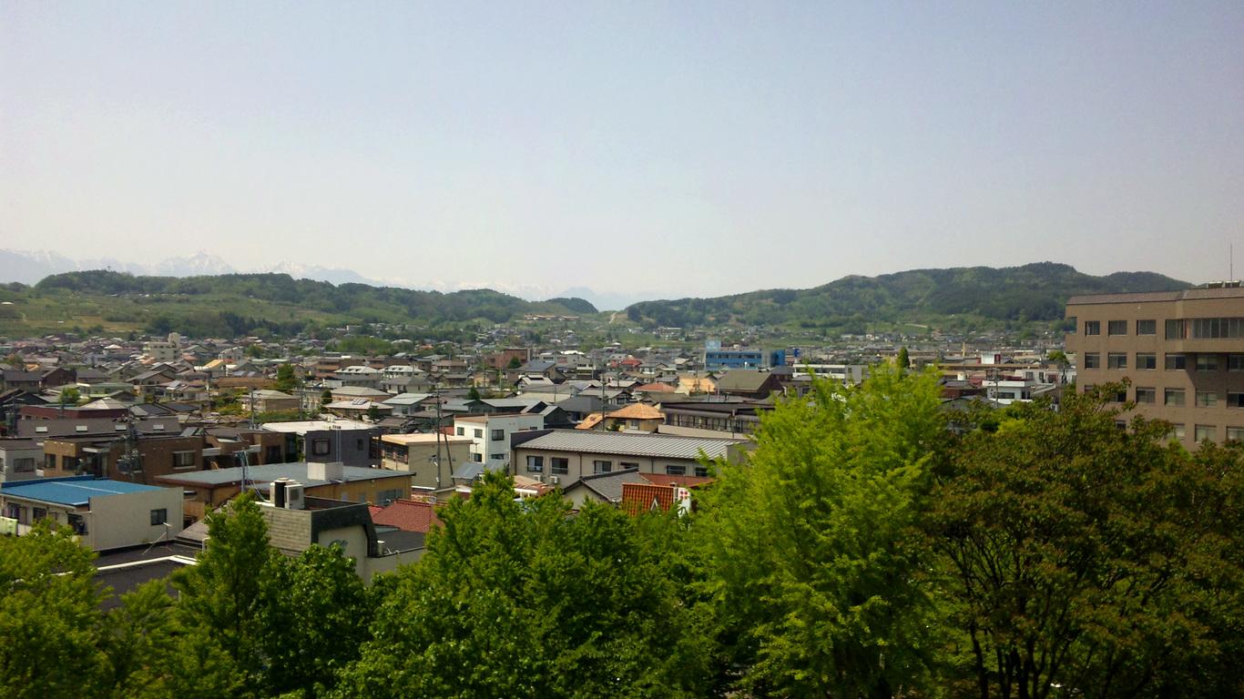 松本市 岡田方面