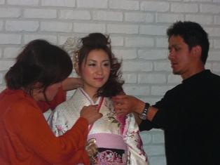 成人式 撮影2009年③