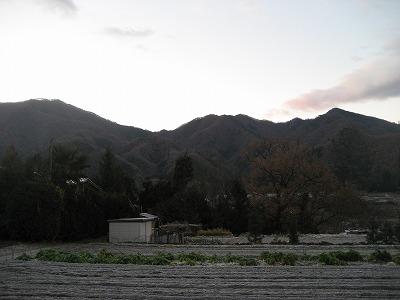 高畑山と倉岳山