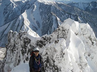 シンセン岩峰