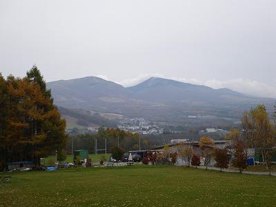 キャンプ場から四阿山