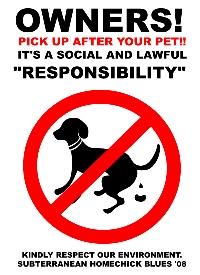 犬フン放置警告看板002