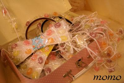 キャンディの首飾り