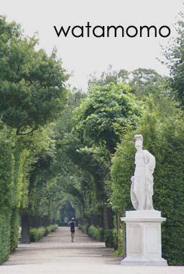 宮殿の散歩道
