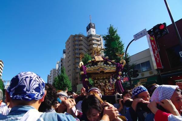 城山熊野神社御輿