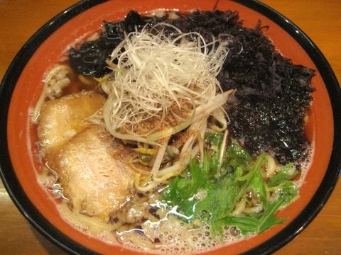 磯海苔醤油ラーメン