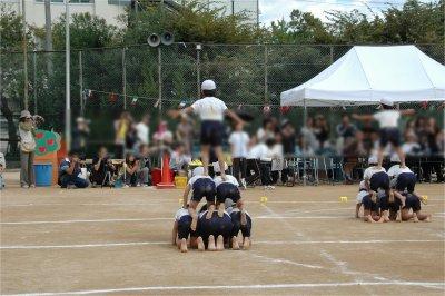 組み体操 3