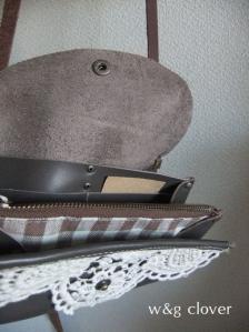 お財布ショルダーグレー2