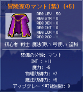 INT11魔5紫マント