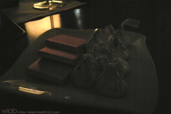 なんでホテルのチョコってアメリカンな味なんだ??