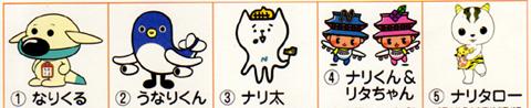 成田キャラクター