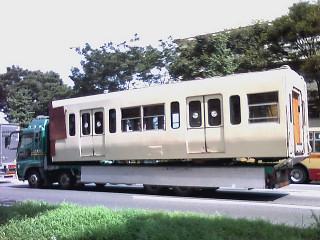 電車on車