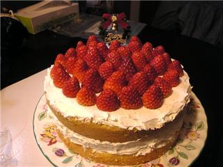 クリスマスケーキ20071222