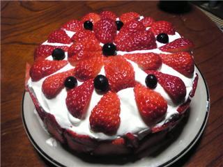 クリスマスケーキ20071225