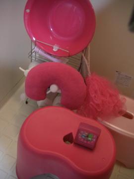 ピンクお風呂