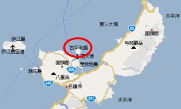 古宇利島 地図