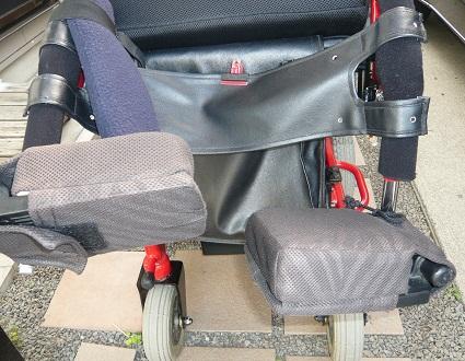 *車椅子の足台が~*
