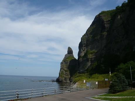 *セタカムイの岩*