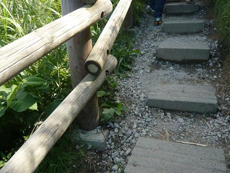 *狭い階段*