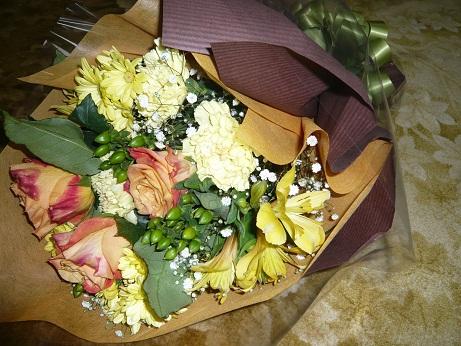 *父へのお花*