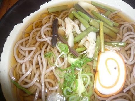 *山菜そば*