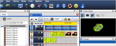 マルチトラック録音やタイムライン編集ができるフリーの音声・動画編集ソフト