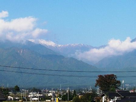 大天井岳10.18