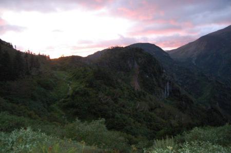 2水平道からの夜明5