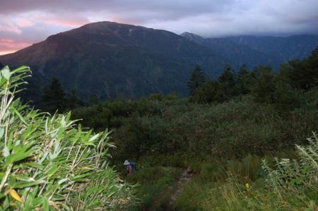 2水平道からの夜明6