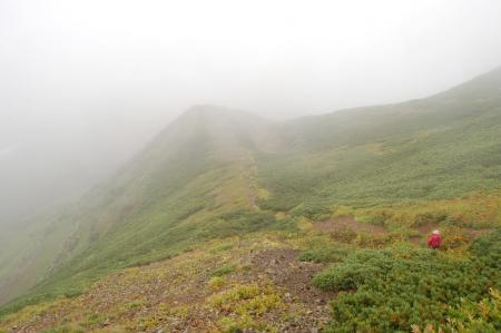 2雪倉岳から下山23