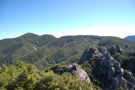 1山頂から小川山28