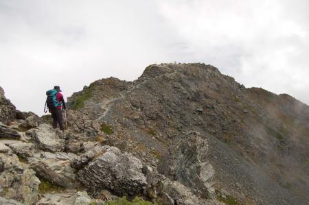2北岳山頂目前22