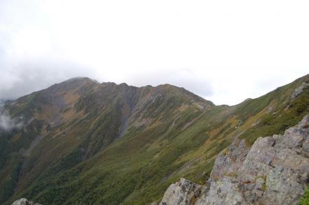 3間ノ岳の稜線10