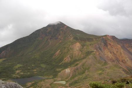 櫛が峰山頂から磐梯山29