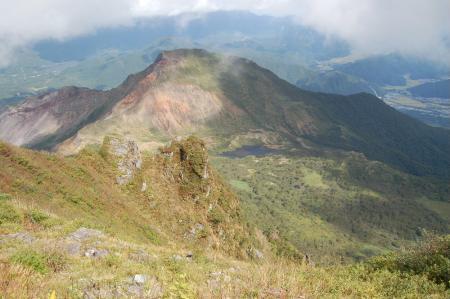 山頂から櫛が峰41