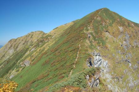 1一の倉沢岳40