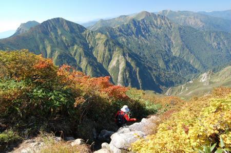 1一の倉沢岳へ41