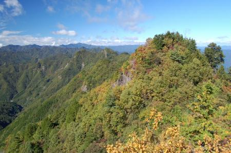 1西岳から行蔵峠15-1