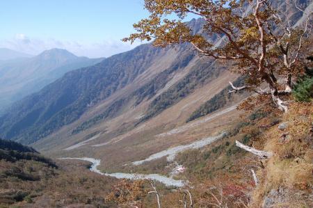 3岳沢へ27