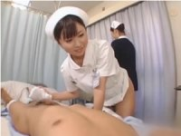 【手コキ】美人ナースによる童貞患者へのいわゆる性交治療