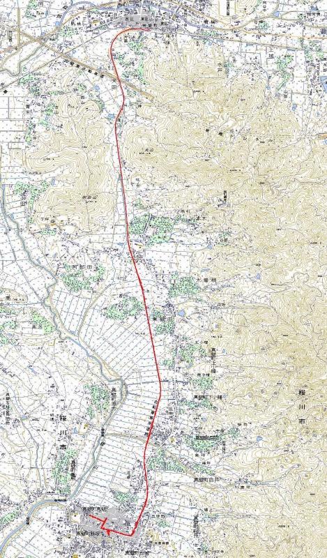 りんりん真壁地図