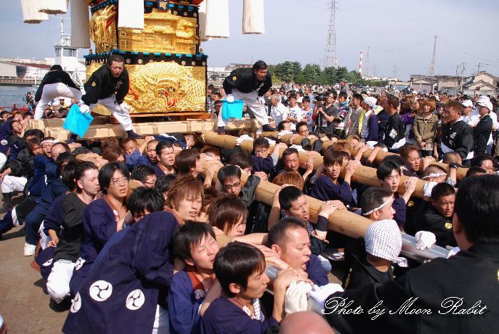 西町太鼓台 船御幸 新居浜太鼓祭り2010 愛媛県新居浜市 2010年10月18日