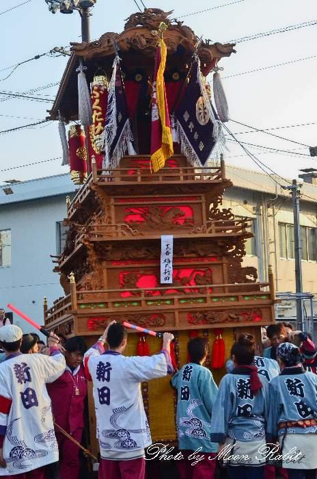 西条祭り2011 御殿前 新田だんじり(屋台・楽車) 伊曽乃神社祭礼 2011年10月16日
