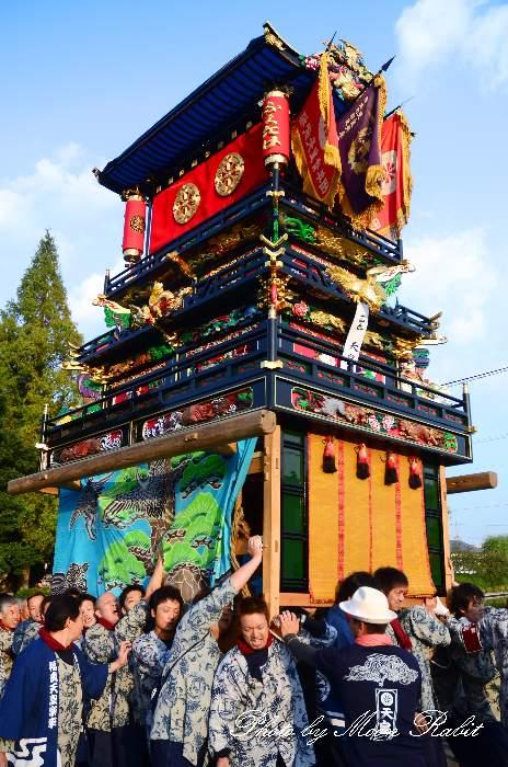 西条祭り2011 御殿前 天皇だんじり(屋台・楽車) 伊曽乃神社祭礼 2011年10月16日