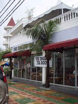 THE ENGLISH TEA ROOM