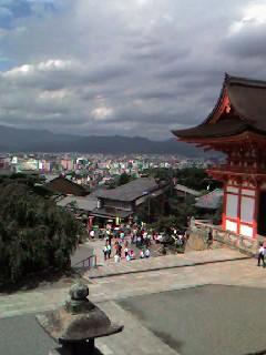 清水寺 町を見下ろし